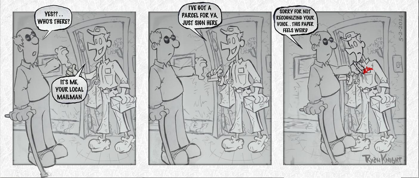 Mailman Misfortunes 5-2-2014
