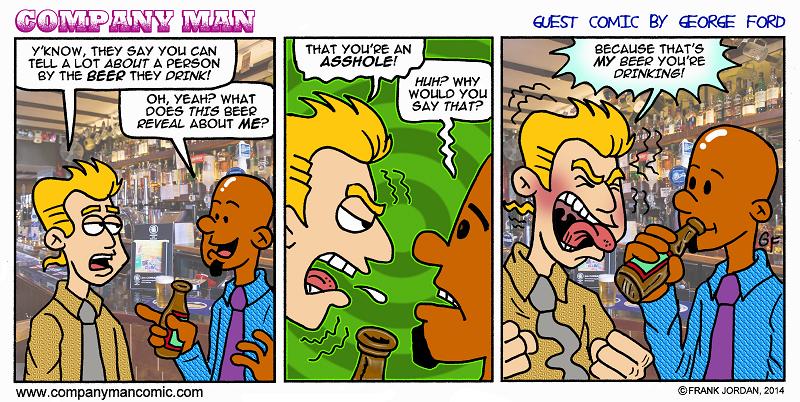 Guest strip week: George Ford! 4/9/14