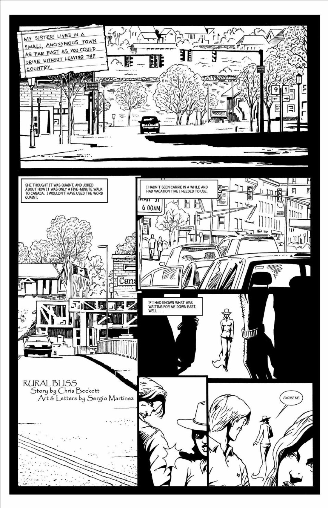 Rural Bliss - page 1