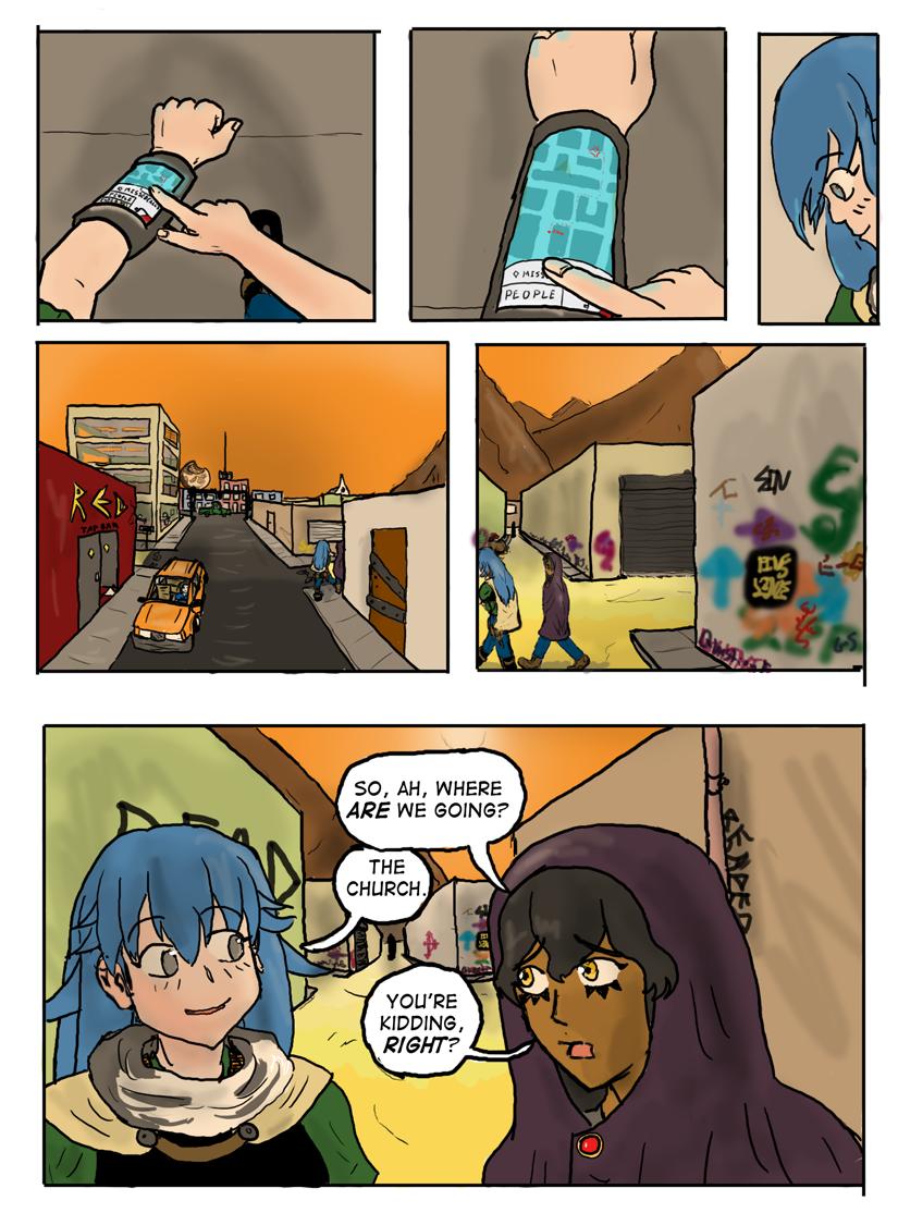 Kyoni:Wanderer Page 19