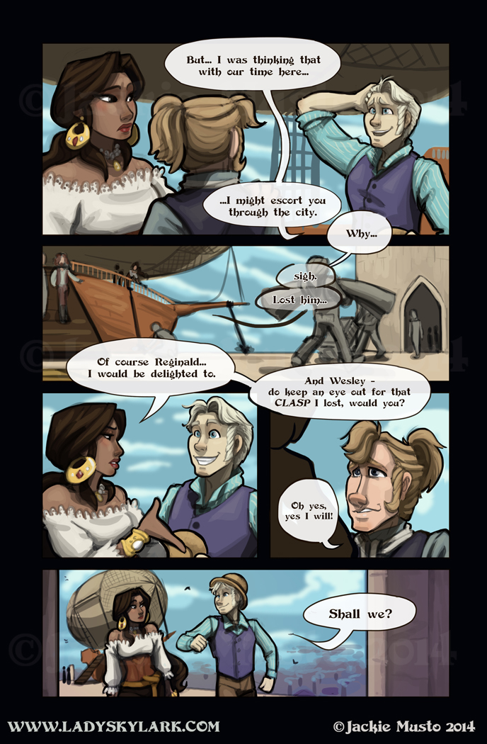 Lady Skylark and the Queen's Treasure - Page 108