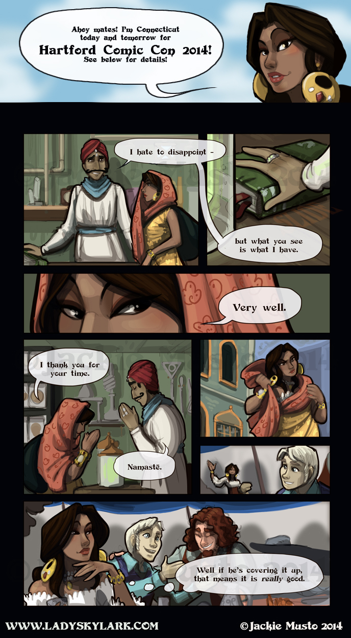 Lady Skylark and the Queen's Treasure - Page 113