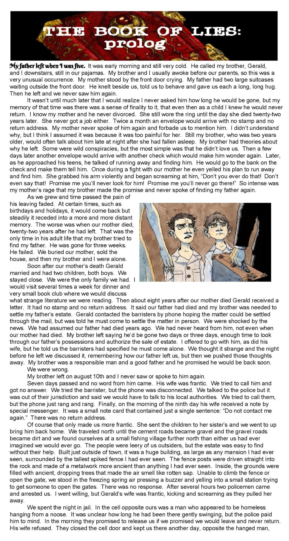 Chapter 1 - The Library - page 1