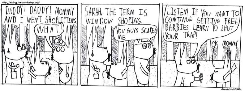 shop lifting