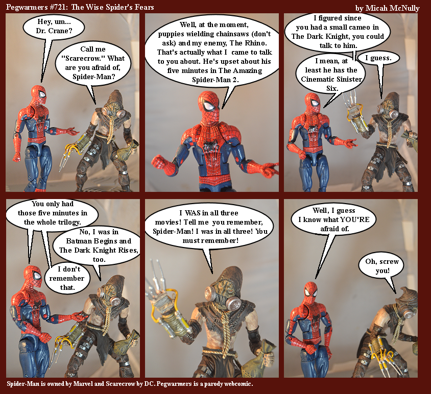 721. The Wise Spider's Fear