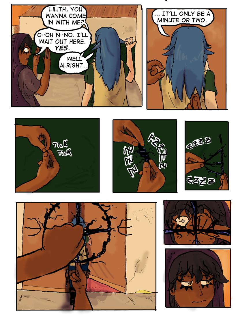 Kyoni:Wanderer Page 21