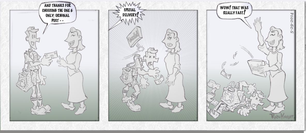 Mailman Misfortunes 5-29-2014