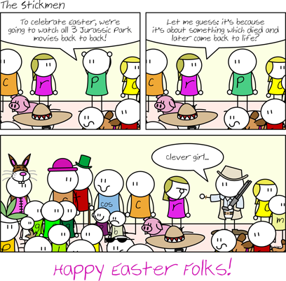 It's Easter again!