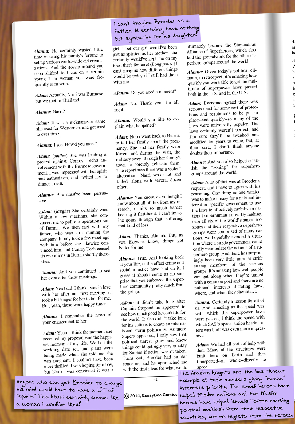 Interleude--Faces Magazine Interview 3 Page 5