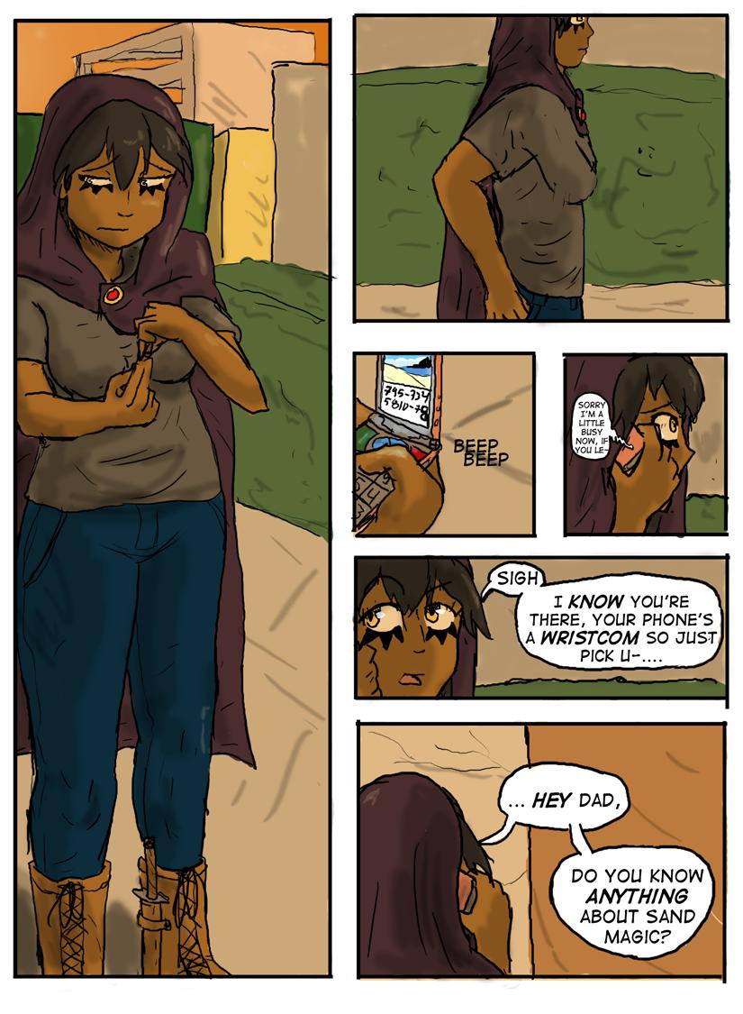 Kyoni:Wanderer Page 22