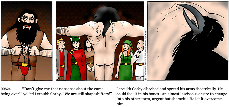 Morph-lust sated...