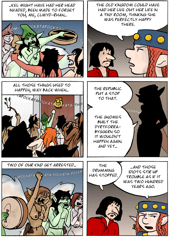 A dreadful scenario