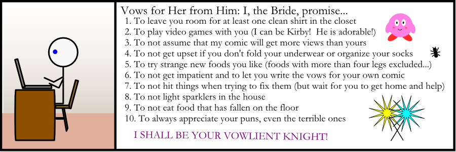 Vows for Her from Him