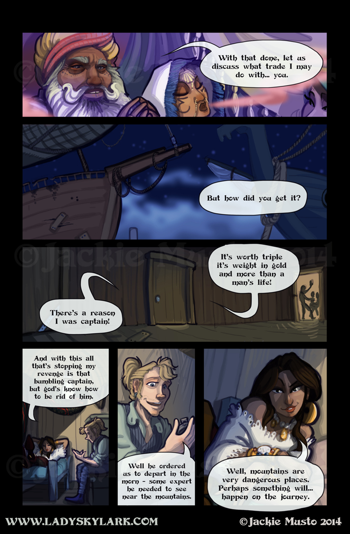 Lady Skylark and the Queen's Treasure - Page 121