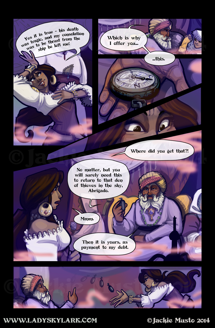 Lady Skylark and the Queen's Treasure - Page 120