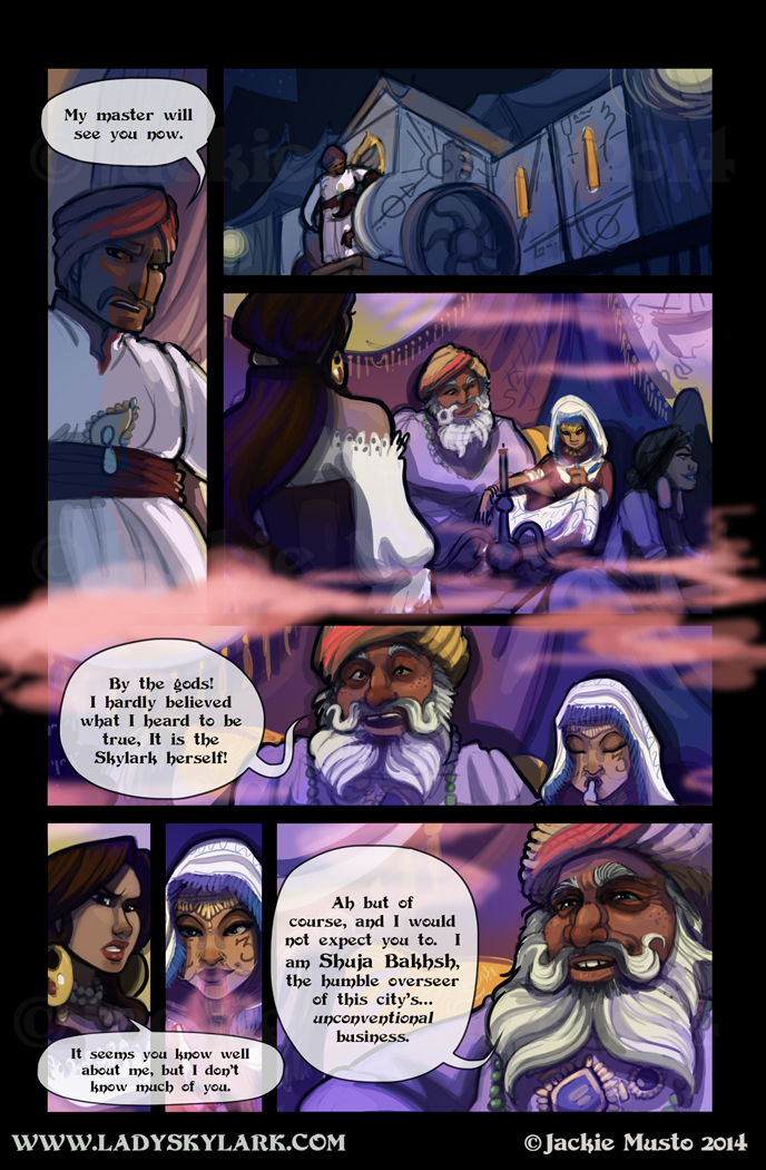 Lady Skylark and the Queen's Treasure - Page 118