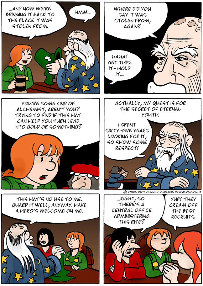 From the mouths of alchemists..