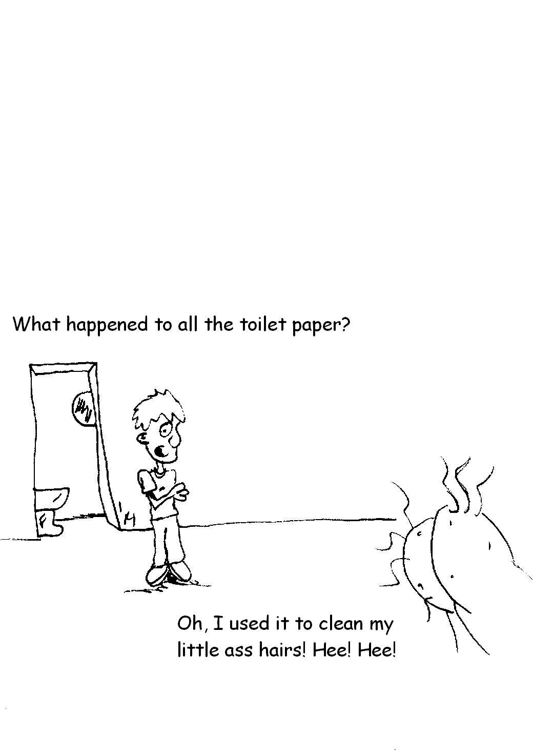 wipe the hairs