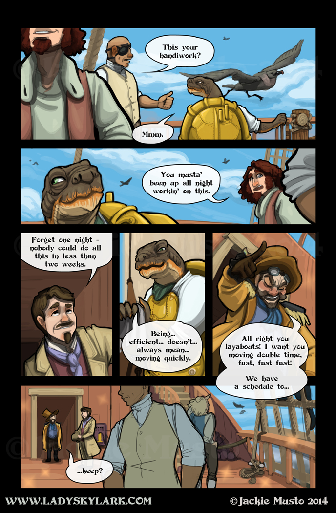 Lady Skylark and the Queen's Treasure - Page 123