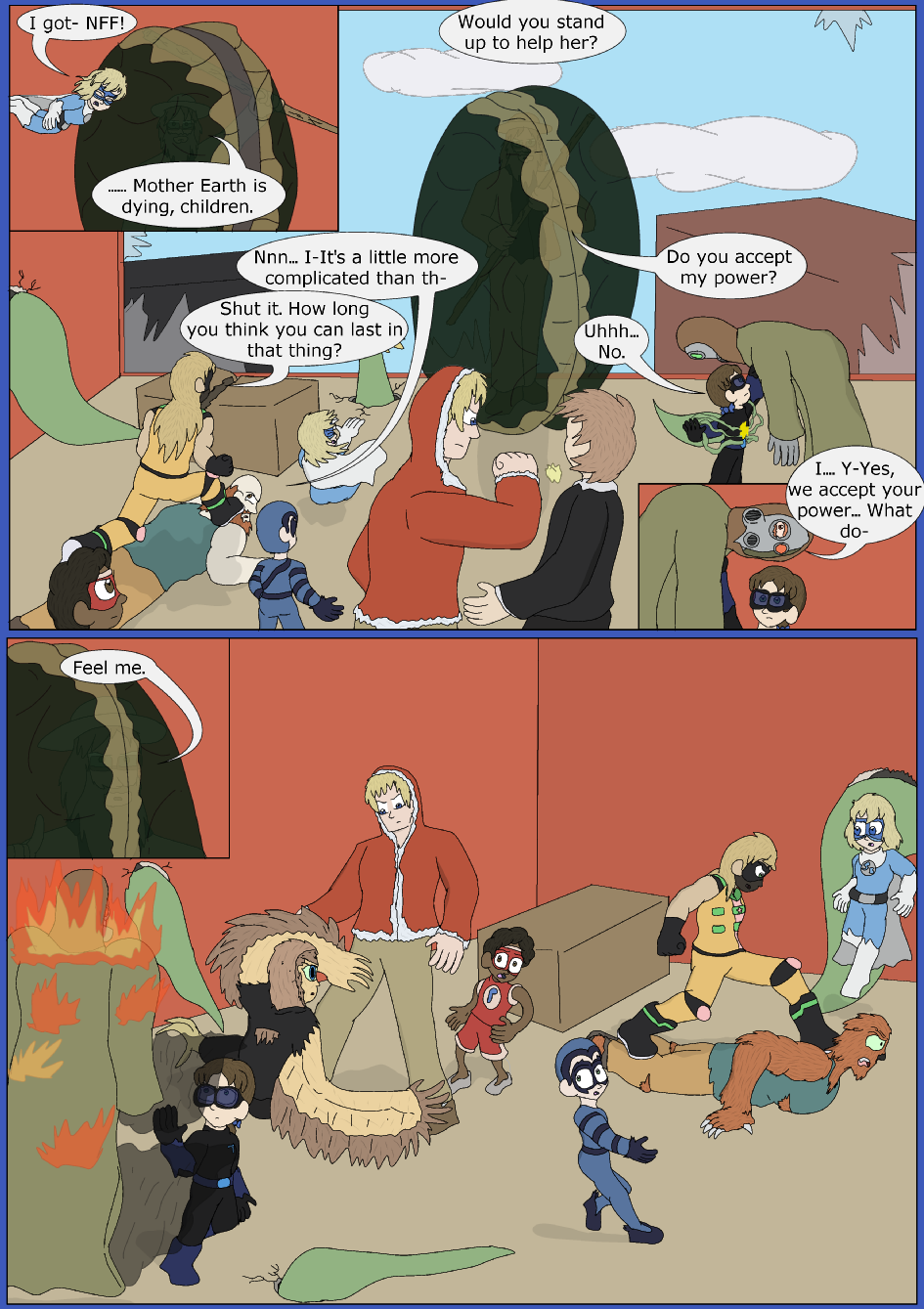 Blue Skies With A Chance Of Rayne, Page 21