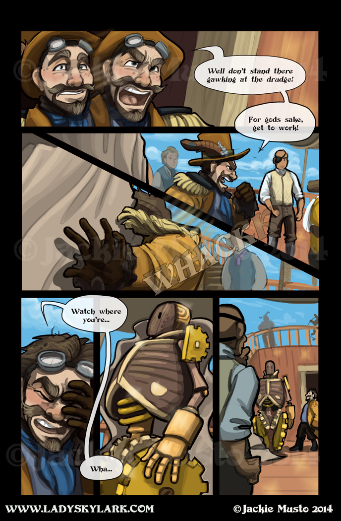 Lady Skylark and the Queen's Treasure - Page 124