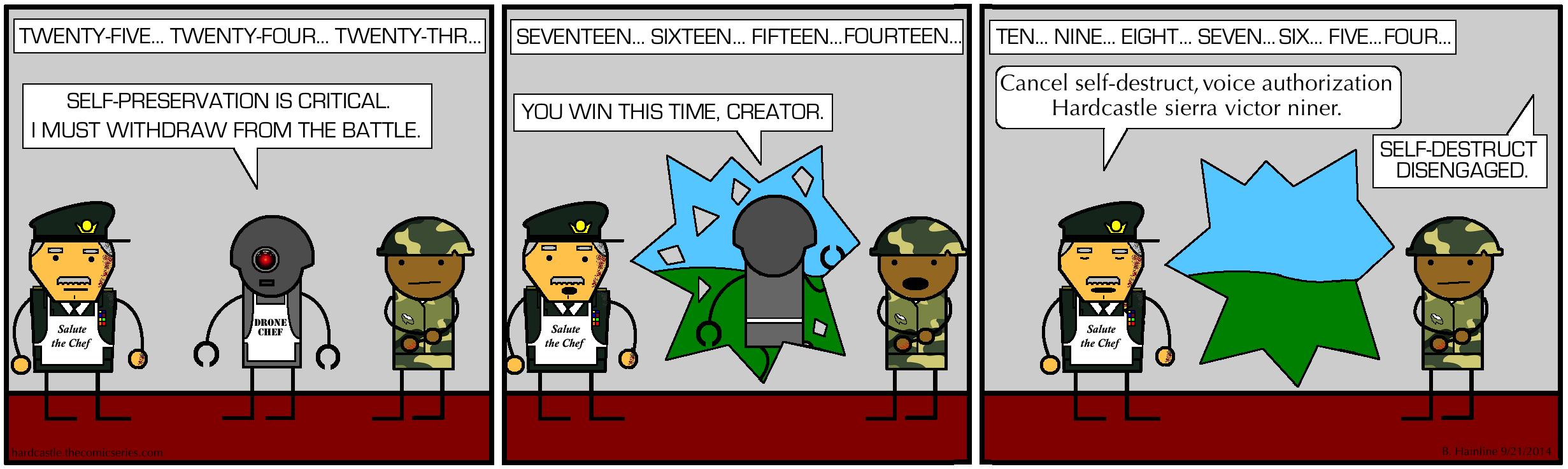 Strategic Withdrawal