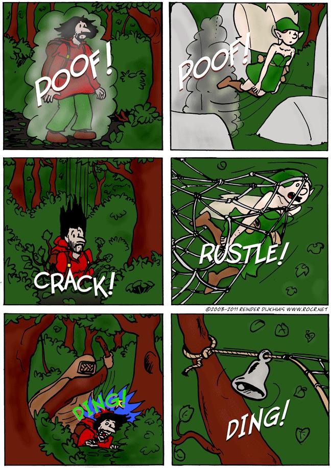 Poof crash ding
