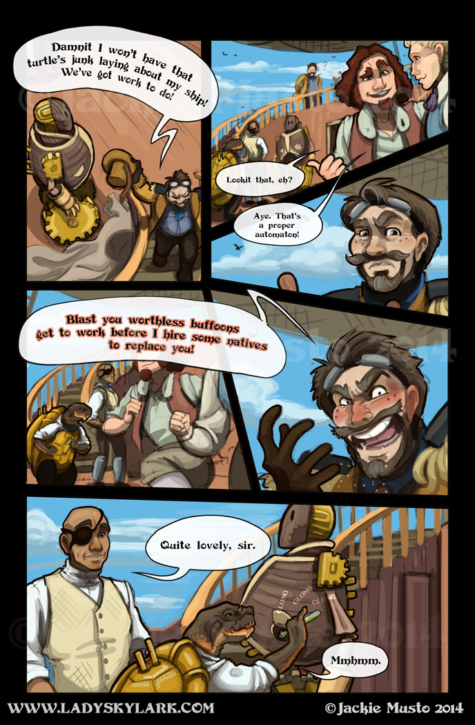 Lady Skylark and the Queen's Treasure - Page 125
