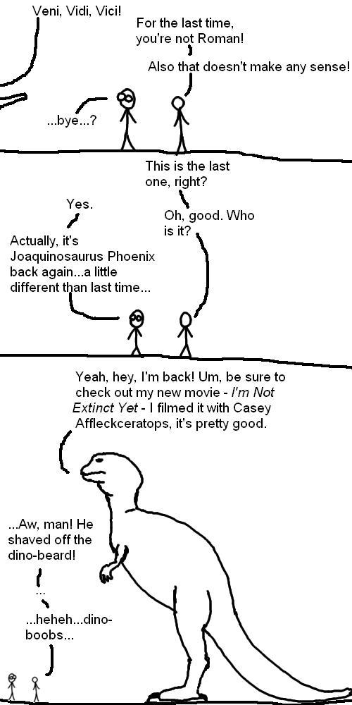 Return of the Joaquinosaurus Phoenix