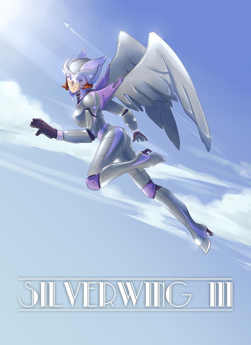 Filler Art: Silverwing III, by Maya Mint