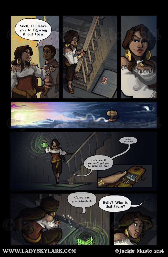 Lady Skylark and the Queen's Treasure - Page 131