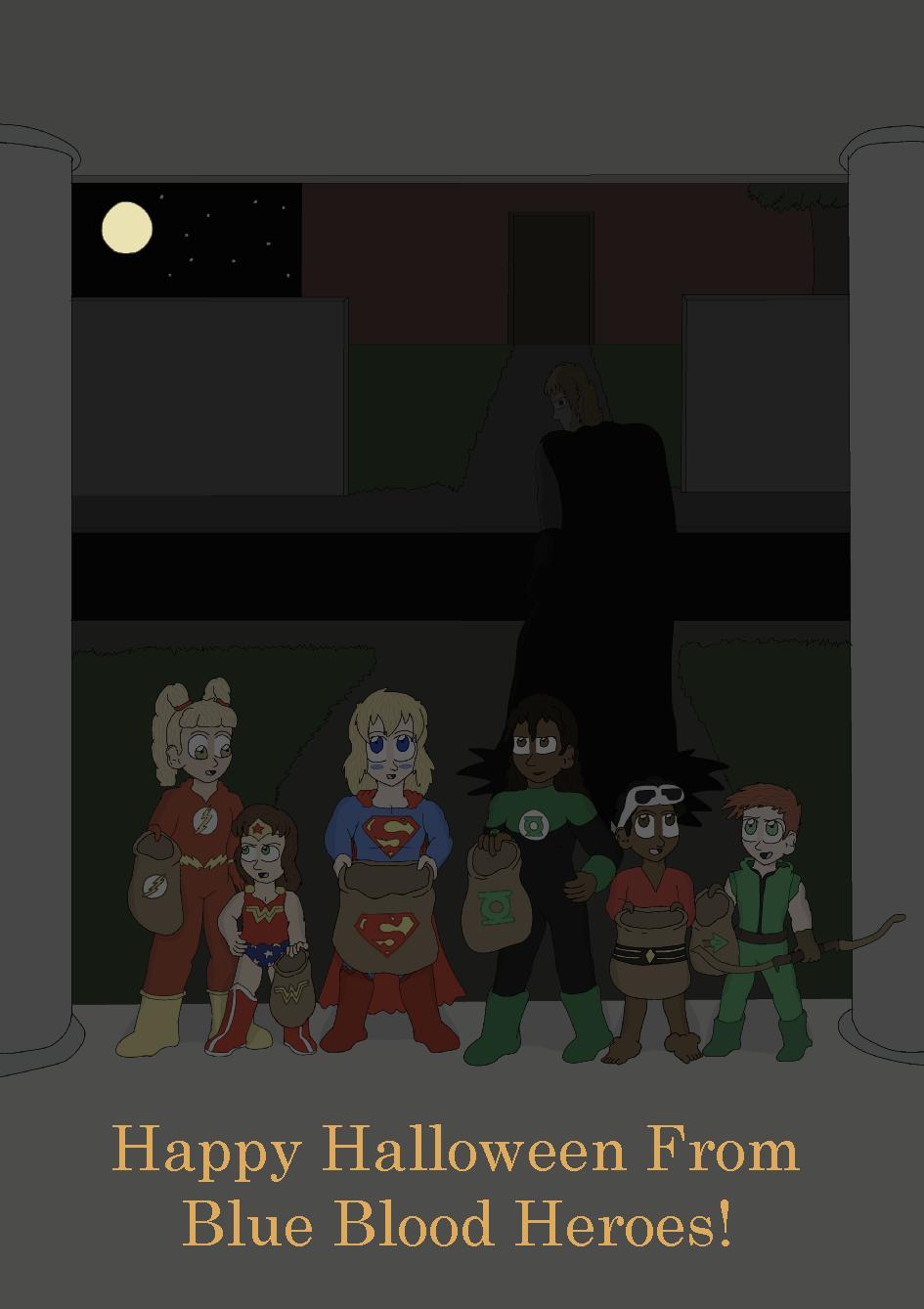 Happy Halloween, 2014! - Justice League