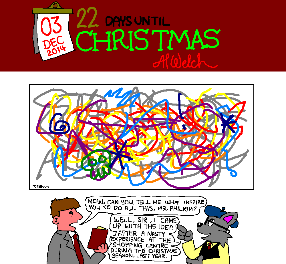 Advent 2014: Day 4: The Art of Xmas Shopping