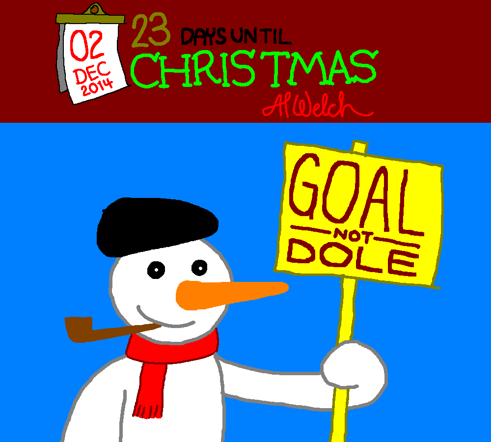 Advent 2014: Day 3: The Snowman of the N.U.M.