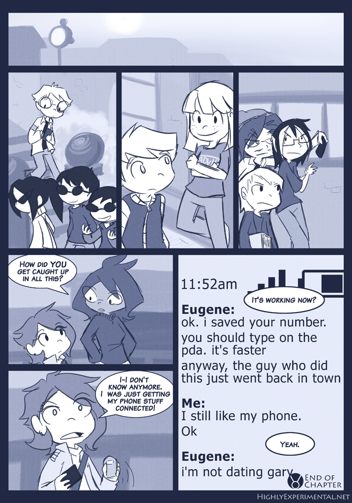 I'm here because phone