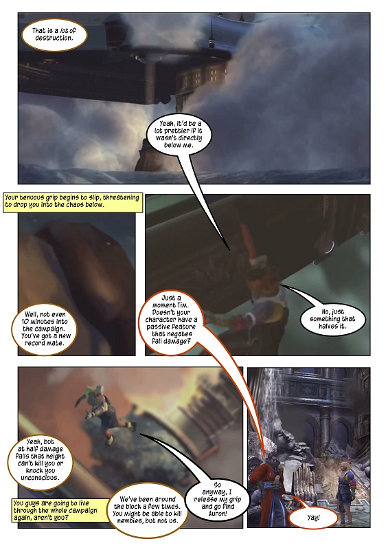005: Fall Damage: A Cautionary Tale