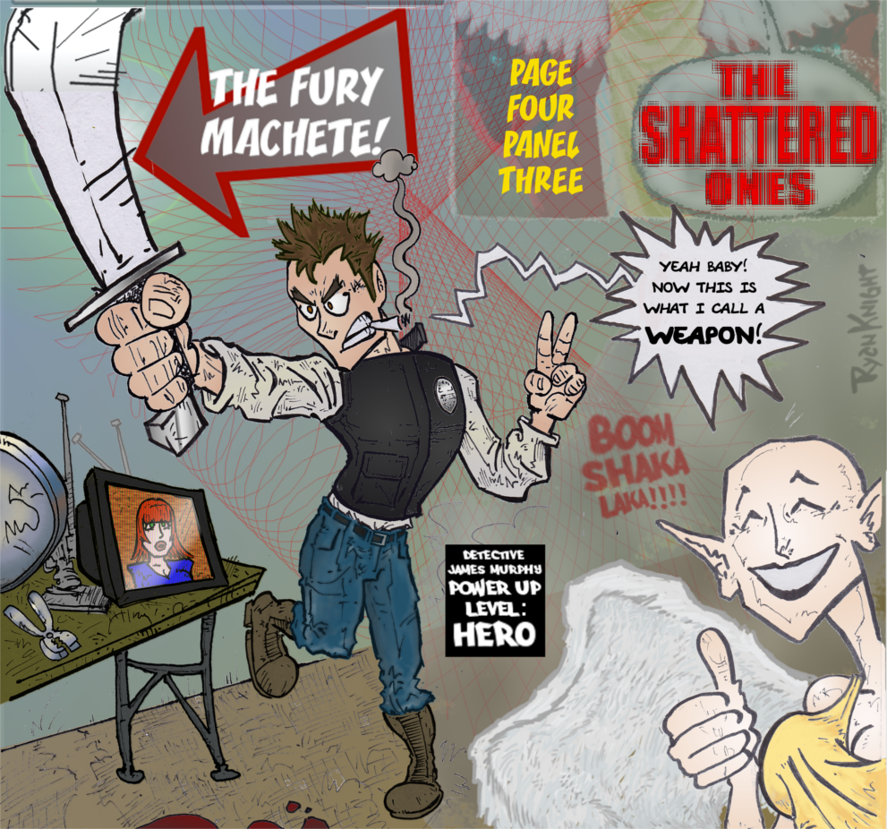 The Shattered Ones Page 4 Panel 3