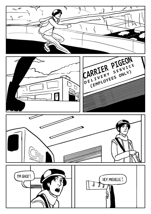 056: Carrier Pigeon Delivery Service