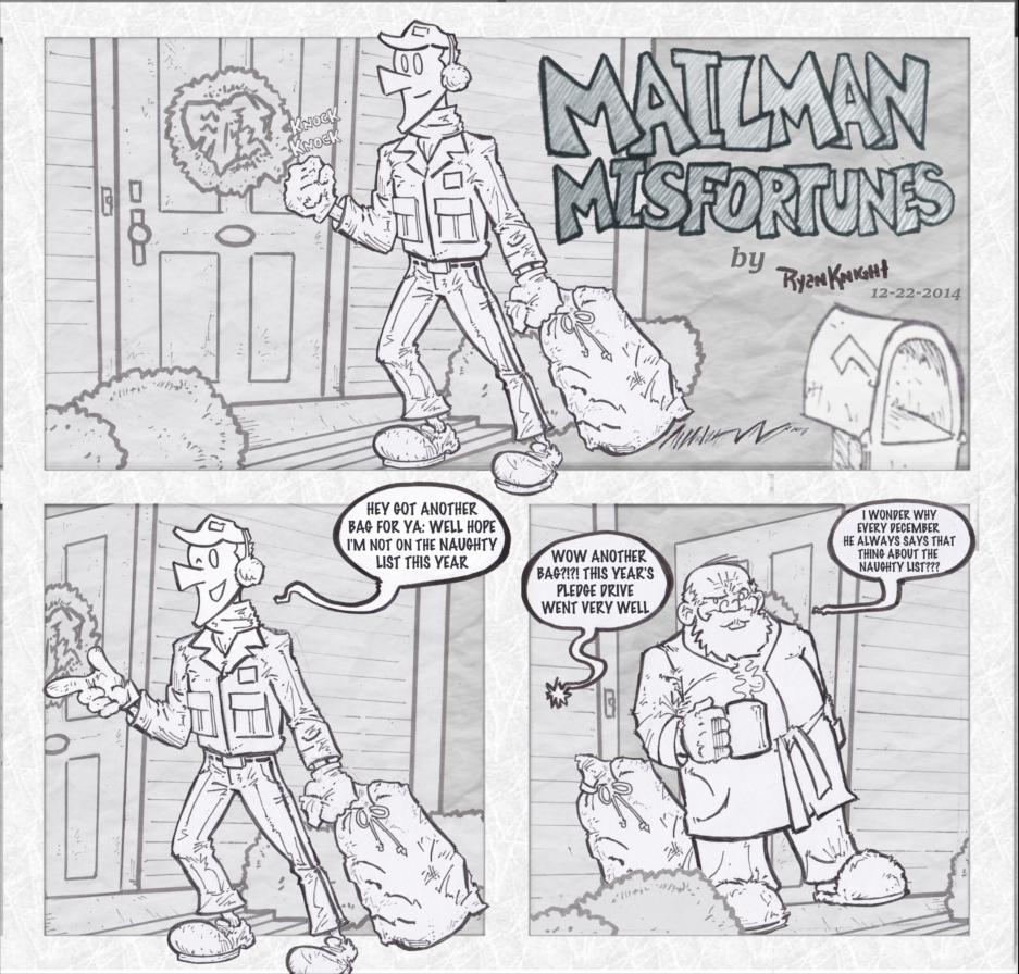 Mailman Misfortunes 12-22-2014