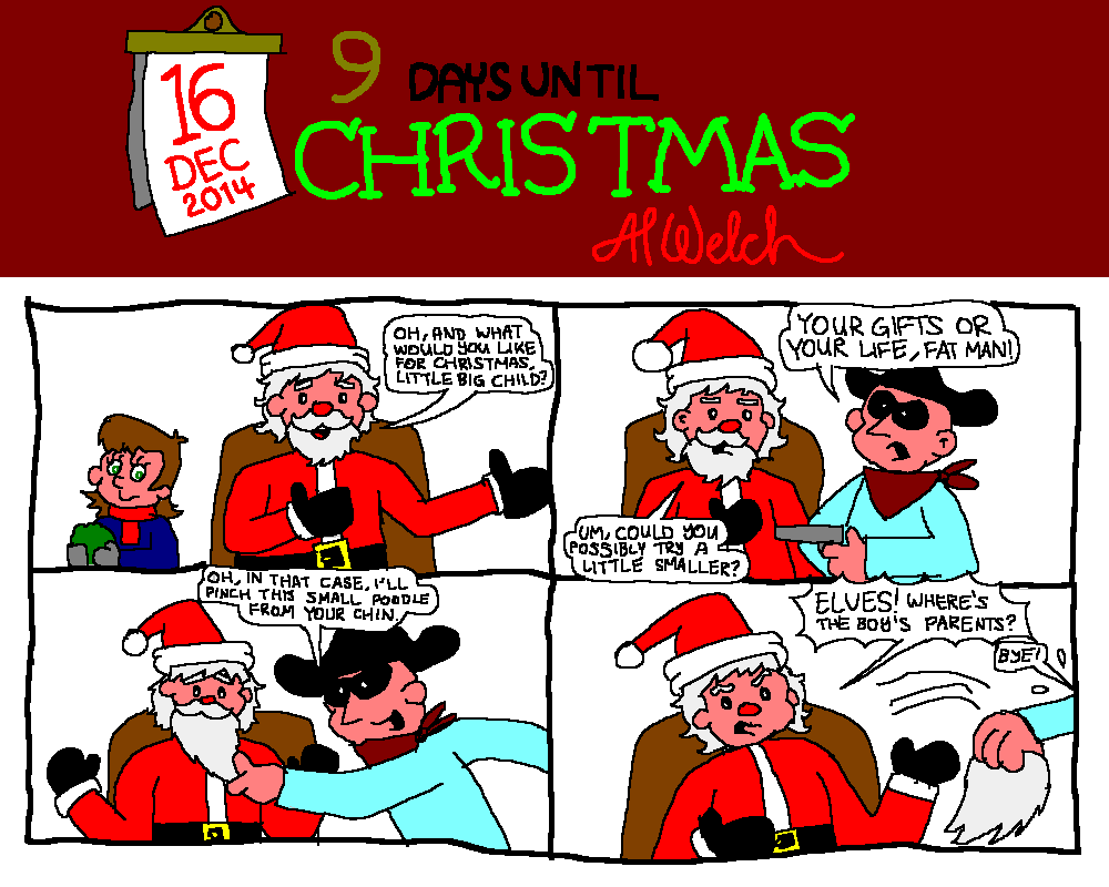 Advent 2014: Day 17: One day at the Shopping Mall