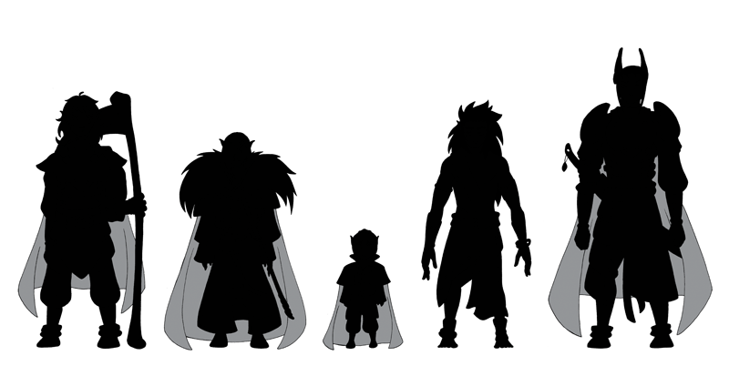Chapter 2 Character Silhouettes