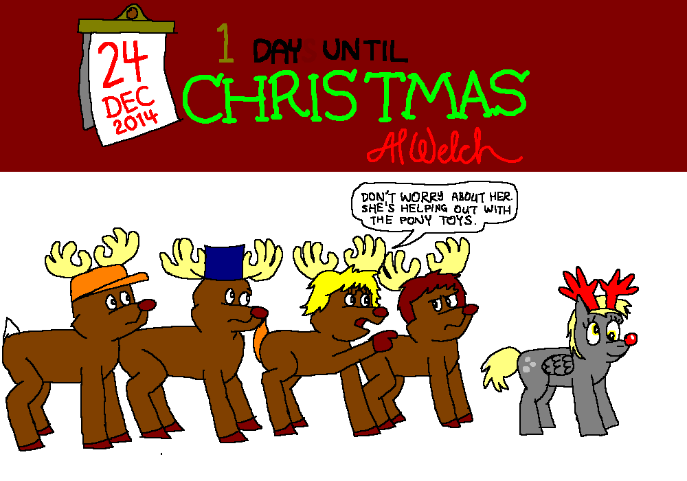 Advent 2014: Day 25: Oh deer, Derpy!