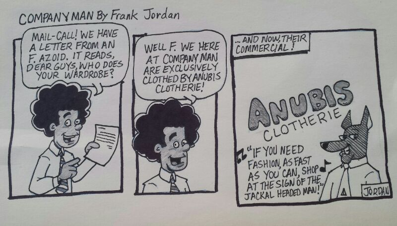 A hastily drawn #COMICSTRIP for 12/29/14