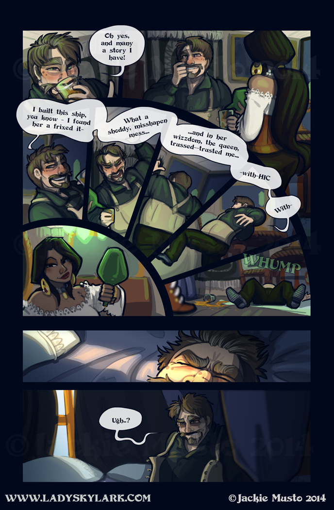 Lady Skylark and the Queen's Treasure - Page 140