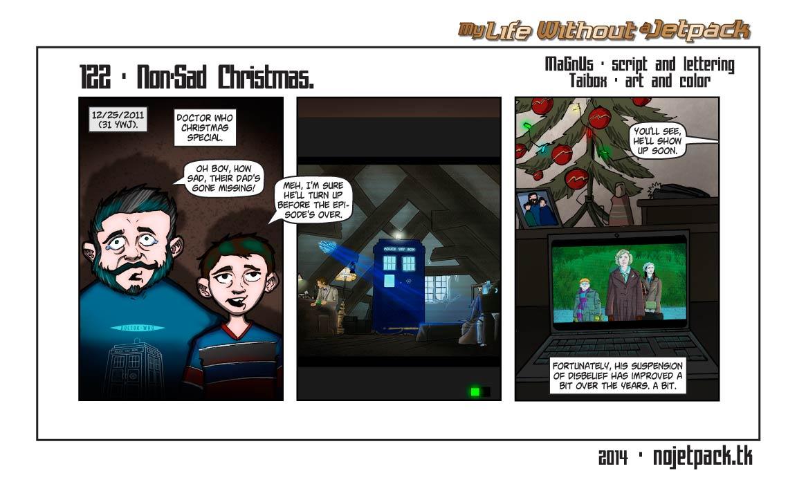 122 - Non-Sad Christmas.