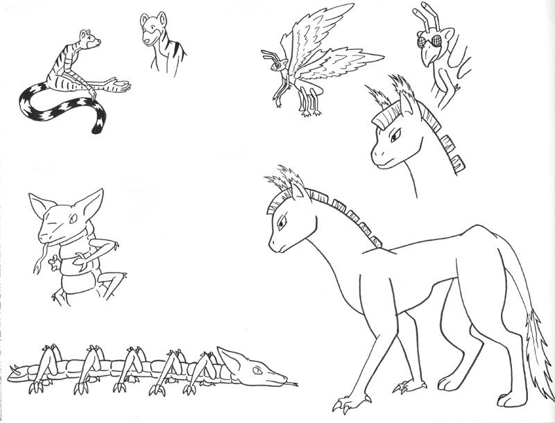 Creatures Concepts 2