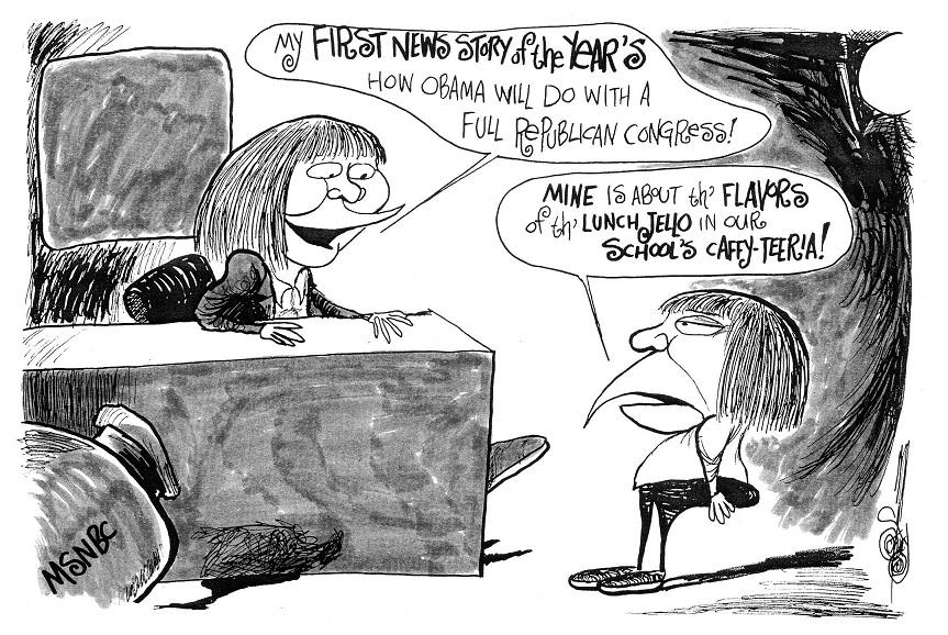 Second Cartoon of 2015!