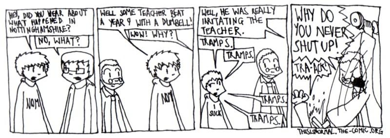 Teacher Used Rage!