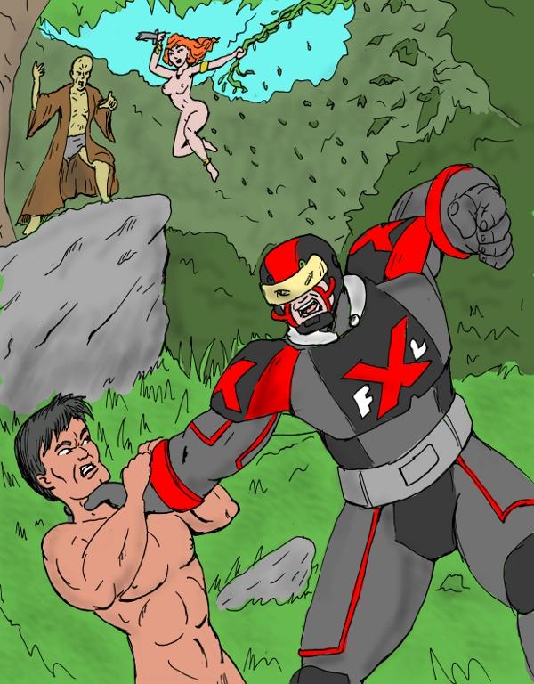 Kaza vs. the XFL's Capt. Gridiron