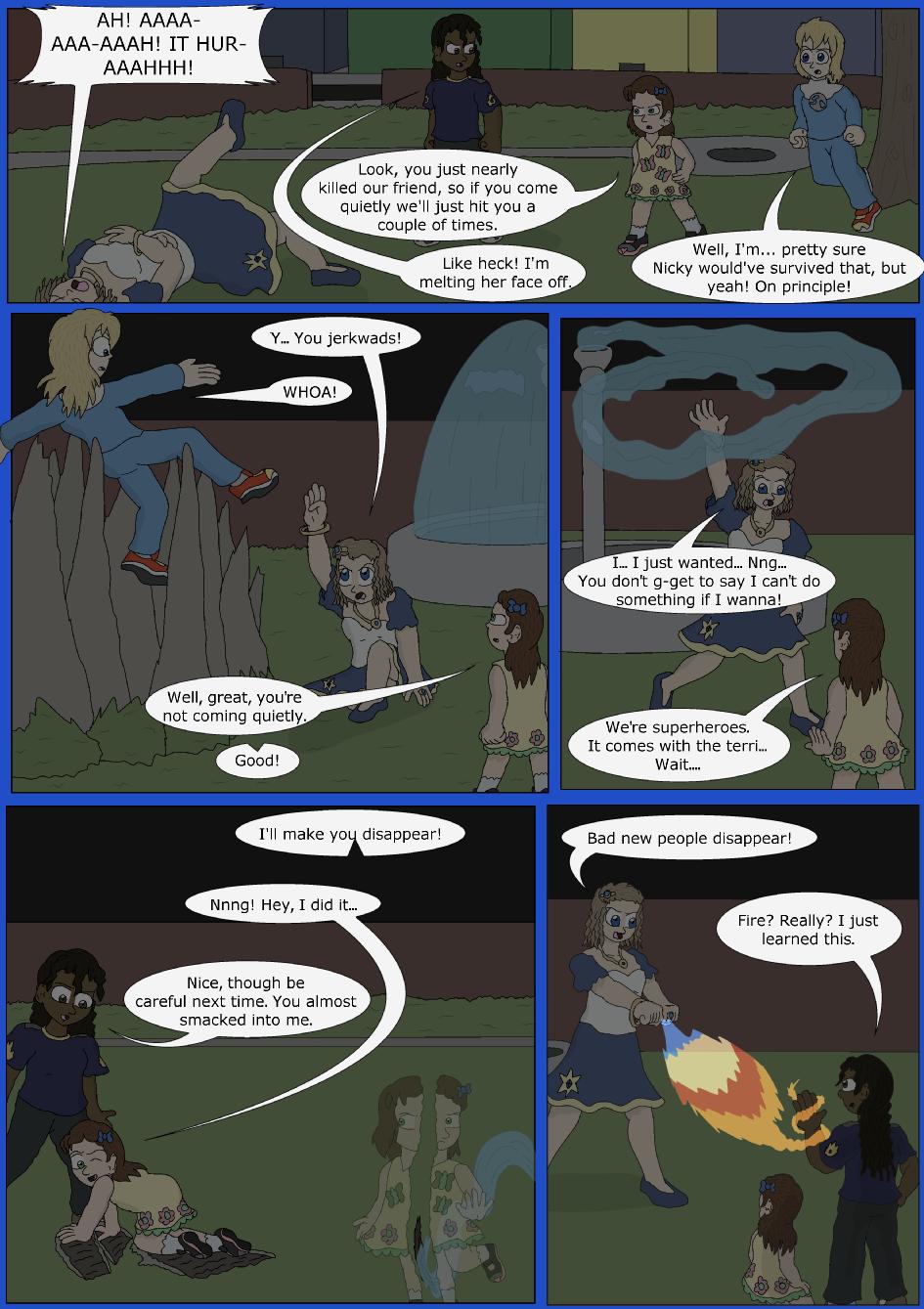 Stronger, Faster, Bluer, Page 16er